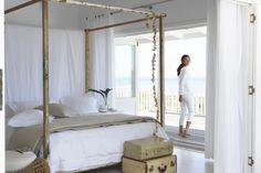 4 post cabana bed | CAMAS RUSTICAS CON BALDAQUINO