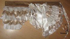 Gypsy bustle belt OOAK festivalrave ra ra by LovenLightFabrics, £75.00