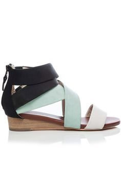 18 Low-Heeled Sandals To Take On Summer In Stride #refinery29  http://www.refinery29.com/low-heeled-sandals#slide17