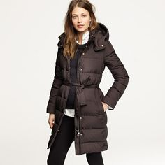 A puffy winter coat. Either down filled or insulated with goretex or some other warm material made for space suits!