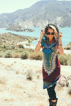 Day Tripper Hoodie Dress Festival Clothing от BlondeVagabond
