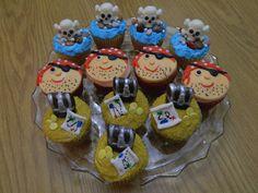 Pirate cupcakes  - pirate cupcakes