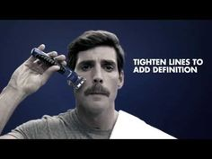 How to Grow a Mustache: Pencil Thin Mustache Style | Gillette STYLER - YouTube