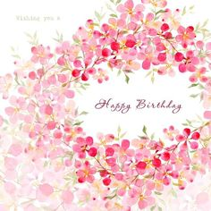 Wish your loved ones with these cute and unique images of Happy Birthday. A lovely greeting could make the entire day for the birthday person. - Page 3 Happy Birthday Wishes Cards, Happy Birthday Flower, Birthday Blessings, Happy Birthday Pictures, Bday Cards, Happy Birthday Quotes, Birthday Love, Free Birthday, Happy B Day