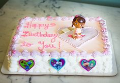 A Doc McStuffins birthday cake! Cake # 141.