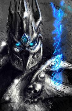 VVernacatola Art: The Lich King, World of Warcraft