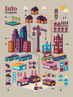Set of Economy elements infographics design vector 03