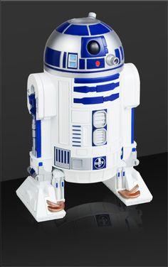家庭用プラネタリウム「HOME STAR」R2-D2バージョン。あのDEATH STARが投影されるとは。