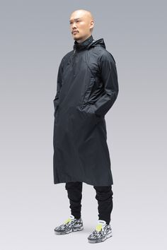 ACRONYM® Pocket Detail, Double Breasted, Rain Jacket, Windbreaker, Raincoat, Cyberpunk, Design, Style, Fashion