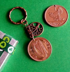 Irish Culture, 70th Birthday Gifts, Copper Penny, Penny Coin, Christmas Labels, Presents For Men, Hens And Chicks, Coins, Presentation