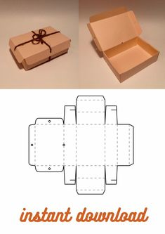 Shoes box template, shoes storage box, corrugated box, papercraft box, kraft paper box, paper box, printable box, folding box, foldable box Box Templates Printable Free, Diy Gift Box Template, Box Packaging Templates, Paper Box Template, Packaging Nets, Kraft Box Packaging, Shoe Template, Gift Packaging, Diy Crafts For Gifts