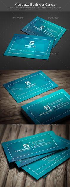 Business Card  — PSD Template #modern design #print template • Download ➝ https://graphicriver.net/item/business-card/18205322?ref=pxcr
