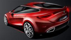Alfa Romeo Concept - Design Sketch by David Gayon
