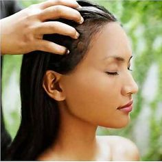 How To Grow Hair Faster : Oil massage improves blood circulation to the roots of your hair and encourages hair growth.