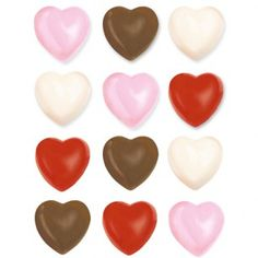 Wilton Candy Mold Hearts - Candy & Chocolade Molds - Molds & Uitstekers - producten | Deleukstetaartenshop.nl