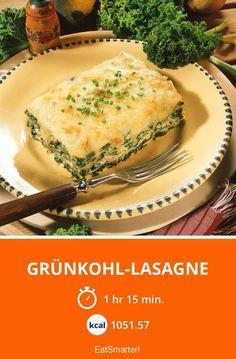 Grünkohl-Lasagne - smarter - Kalorien: 1051.57 kcal - Zeit: 1 Std. 15 Min. | eatsmarter.de