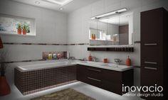 Návrh interiéru kúpeľní