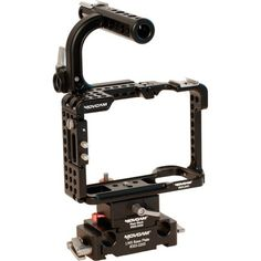 Movcam A7SII A7RII Cage Kit - The Movcam Cage Kit for Sony a7 II, a7R II and a7S II provides the added protection, stability, and mounting options needed to get your camera ready from video production use.