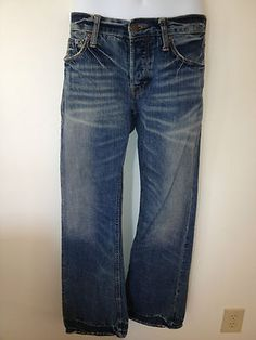 Mens American Eagle Low Rise Boot Cut Jeans Size 30 X 32