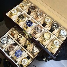 Rolex Collection  - Which would watch would you choose ? cc: @lovewatches  Courtesy of @avikoren by luxurylifestylemagazine