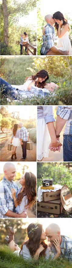 I don't care anything about the props, but I love the sweetness and love captured in these photos.
