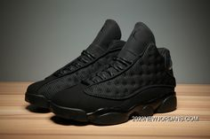 "f3bcbe49038e37 Air Jordan 13 ""Black Cat"" Black Anthracite-Black Men s And Women s Size  414571-011 2020 Authentic"