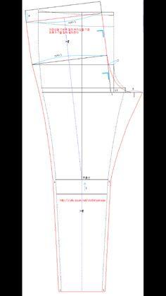 성인 배기바지 만들기 / 배기바지 무료공개패턴 이쁜 배기바지 무료패턴 입니다.. 공개 스크랩 가능하니.....