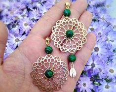 Healing Meditation, Chakra Healing, Gemstone Jewelry, Unique Jewelry, Amethyst Necklace, Special Deals, Jewerly, Crochet Earrings, Etsy Seller