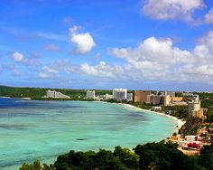 Guam..my hubby is Chamorro and so is my son. My in laws/relatives still live there. We need to hit the lotto and go someday.