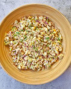 Thunfischsalat - Einfaches und gesundes Rezept