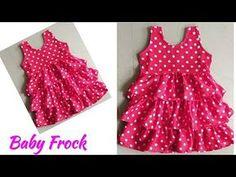 Baby Girl Dress Design, Girls Frock Design, Baby Girl Frocks, Frocks For Girls, Baby Frocks Designs, Kids Frocks Design, Girls Dresses Sewing, Dresses Kids Girl, Cotton Frocks For Kids