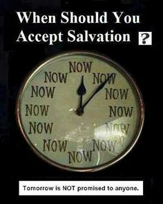 Salvation is important