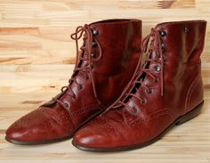 Etienne Aigner Granny Boots (I want these!!)