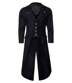 Banned Frock Tail Coat (Black)
