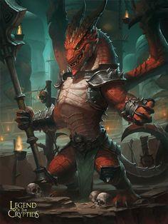 Artist: Hongbo Li aka bobo418 - Title: Easter dragon 2 - Card: Burning Dragonoid