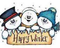 whipper snapper 4x5 Snowman Happy Winter