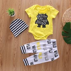 AMOUR TIME 3 Pack Toddler Baby Boys Girls Striped Shorts Little Kids Summer Bloomers