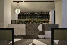 Gia restaurant and whisky bar in Jakarta: The space is divided into a main restaurant with Italian inspired cuisine, whisky bar, wine bar and VIP zone.