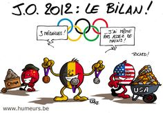 JO 2012 : quel bilan pour la Belgique ?