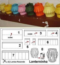 DECORAÇÃO E LEMBRANCINHAS PARA FESTA JUNINA | Cantinho do Educador Infantil