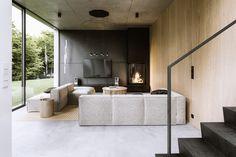 Minimalist Interior, Modern Interior Design, Interior Architecture, Minimalist Home Design, Modern Apartment Design, Modern Interiors, Natural Modern Interior, Interior Cladding, Concrete Interiors