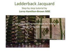 ladderback-jacquard by Lorna Hamilton-Brown via Slideshare