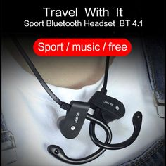 Sport Running Bluetooth Earphone For Sigma mobile X-treme IP68 Earbuds Headsets With Microphone Wireless Earphones