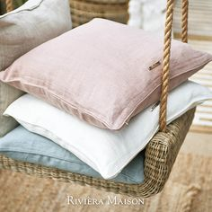Rivièra Maison offers a complete living experience, with authentic products and diverse collections per year. Spring Home, Spring Summer, Flapper, Make Up Braut, Shabby Chic Baby Shower, Throw Cushions, Pillows, Home Decor Trends, Summer Collection