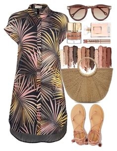 """""""NOOKI Purla Shirt Dress"""" by thestyleartisan ❤ liked on Polyvore featuring tarte, American Eagle Outfitters, Chanel, Urban Decay and Smith & Cult"""