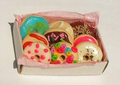 Yummi Donuts Mini Box :) (Streichholzschachtel)