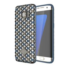 [$2.02] URBAN KNIGHT for Samsung Galaxy S7 Edge / G935 City Pioneer Stlyle Grid Texture PC + TPU Protective Case(Coppery)