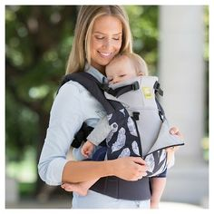 f67b2bf39b7 LILLEbaby 6-Position Complete All Seasons Baby  amp  Child Carrier -  Charcoal (Grey