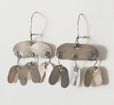 Available for sale from Mark McDonald, Alexander Calder, (ca. 1954), Sterling Silver, 2 1/2 × 1 3/4 in