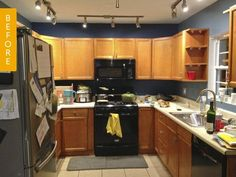 Reader Jennifer had been in her home almost five years before she was able to get started on her kitchen renovation. Unexpected expenses related to a garage update meant that the appliances were the only things that had been updated. But on the plus side, this meant that she knew just what she wanted in the space, and what she didn't want. Take a look at how her kitchen was transformed.